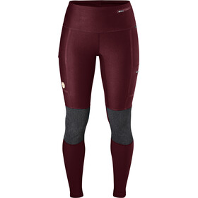 Fjällräven Abisko Trekking Tights Women dark garnet